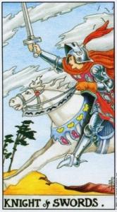 Значение карты таро рыцарь погадать виртуально картах таро