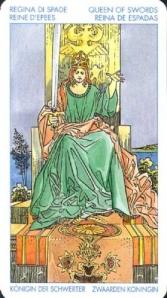Значение карт таро королева мечей гадание на картах таро на карьеру